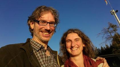Silvia und Hannes auf der Zuflucht - nach dem entscheidenden Treffen